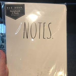 Rae Dunn notebook 2-pack